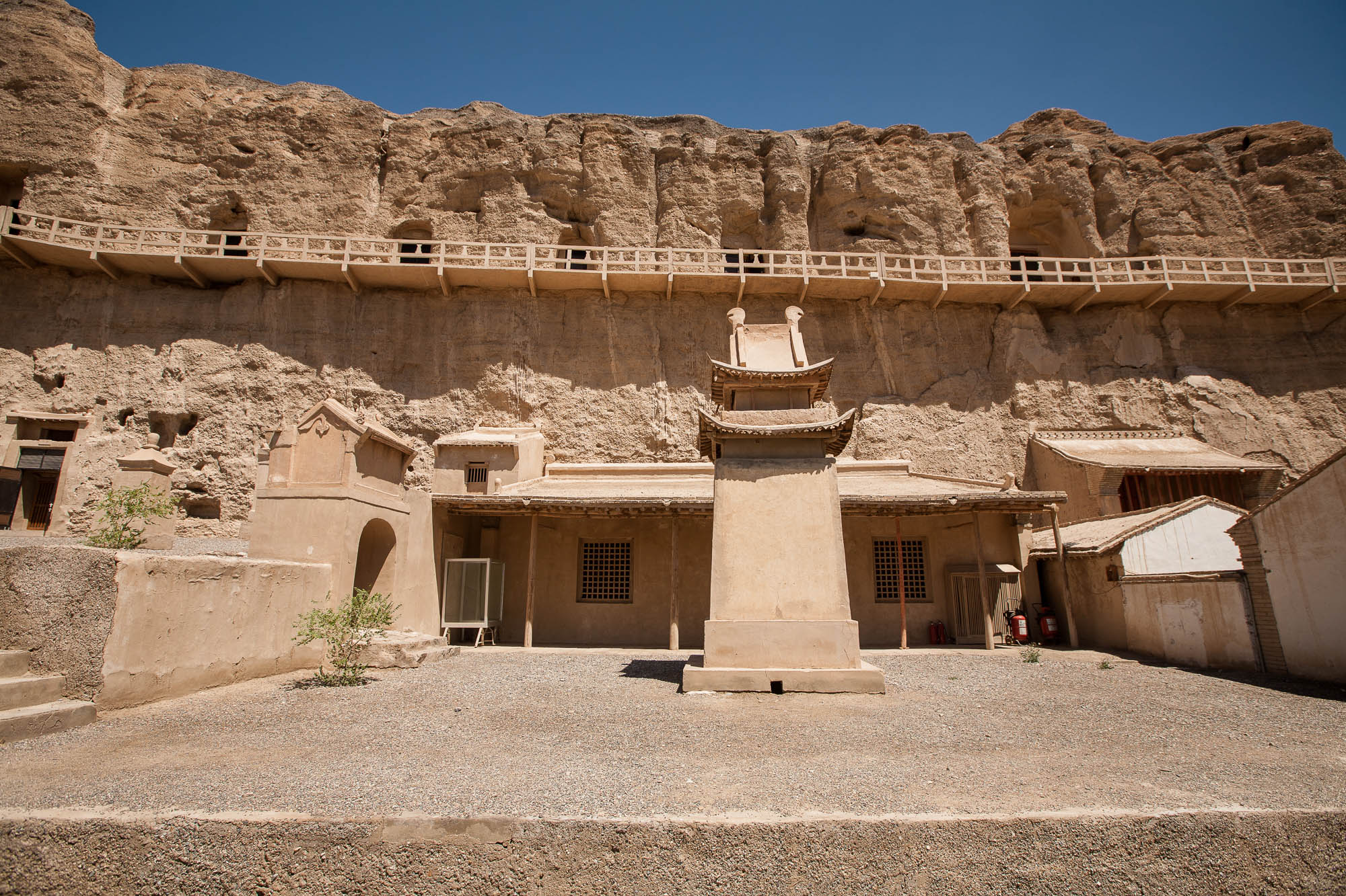 structures at the Yulin Grottoes