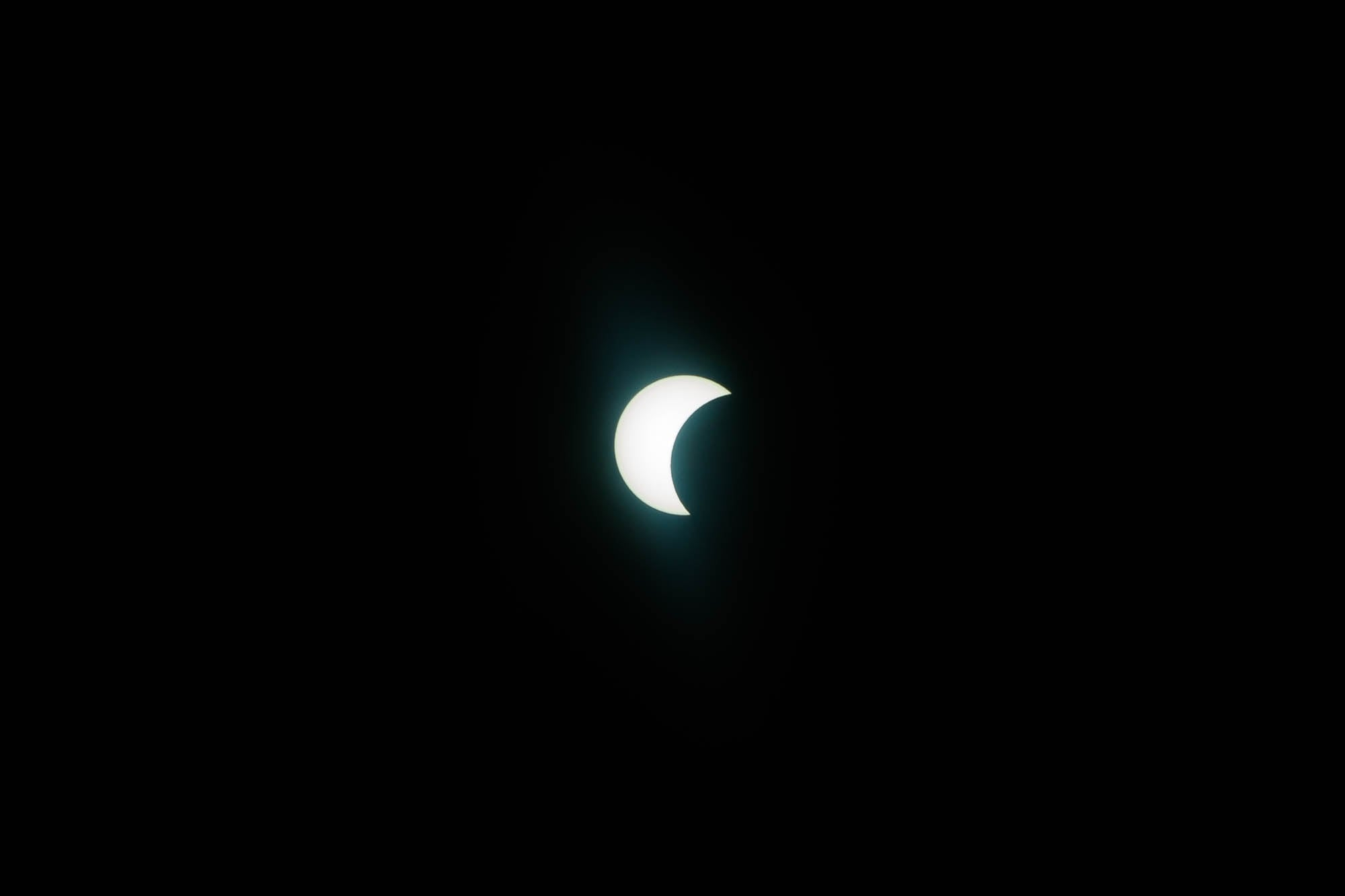 further stage of the eclipse