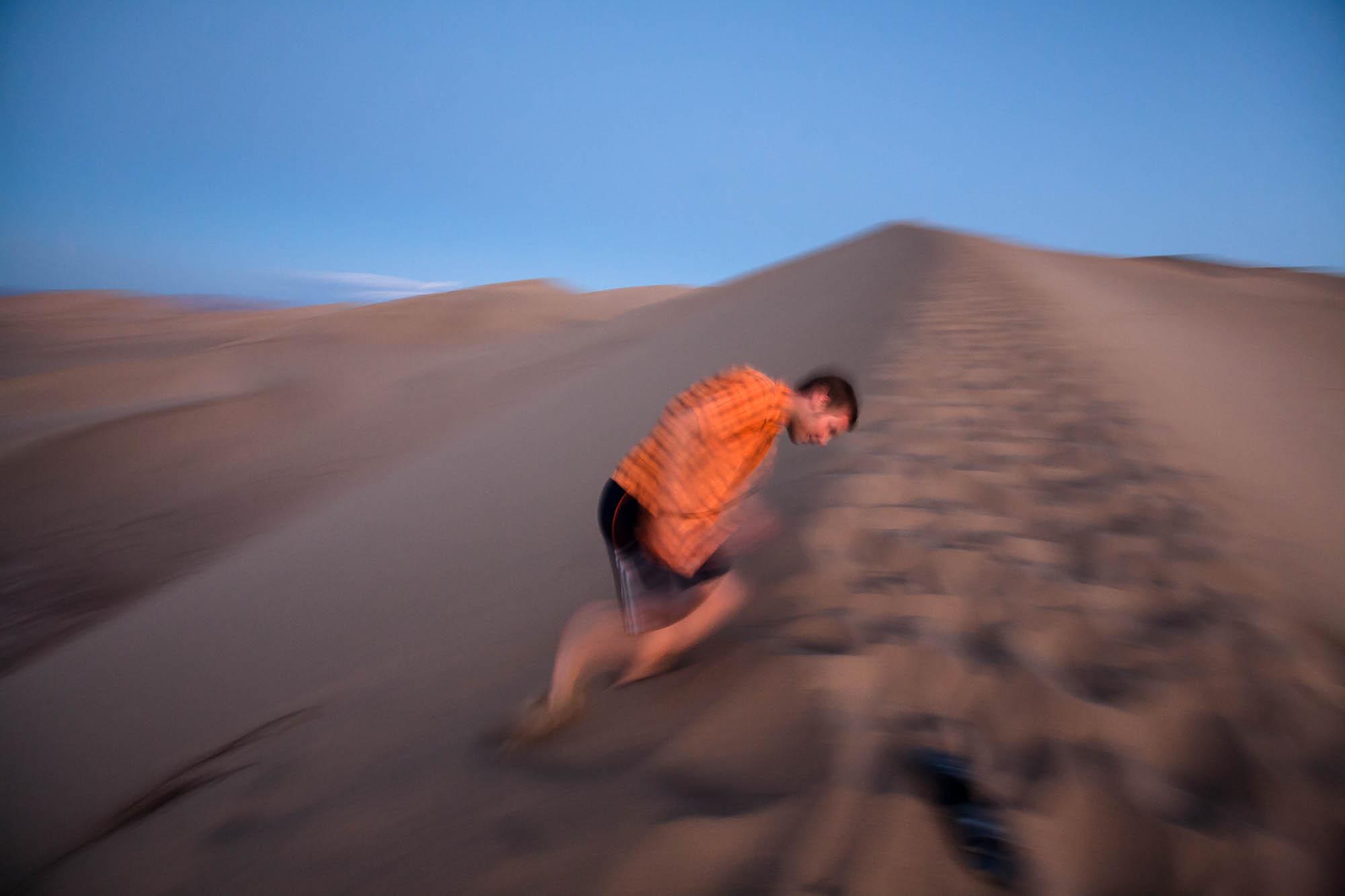 Robo on dune