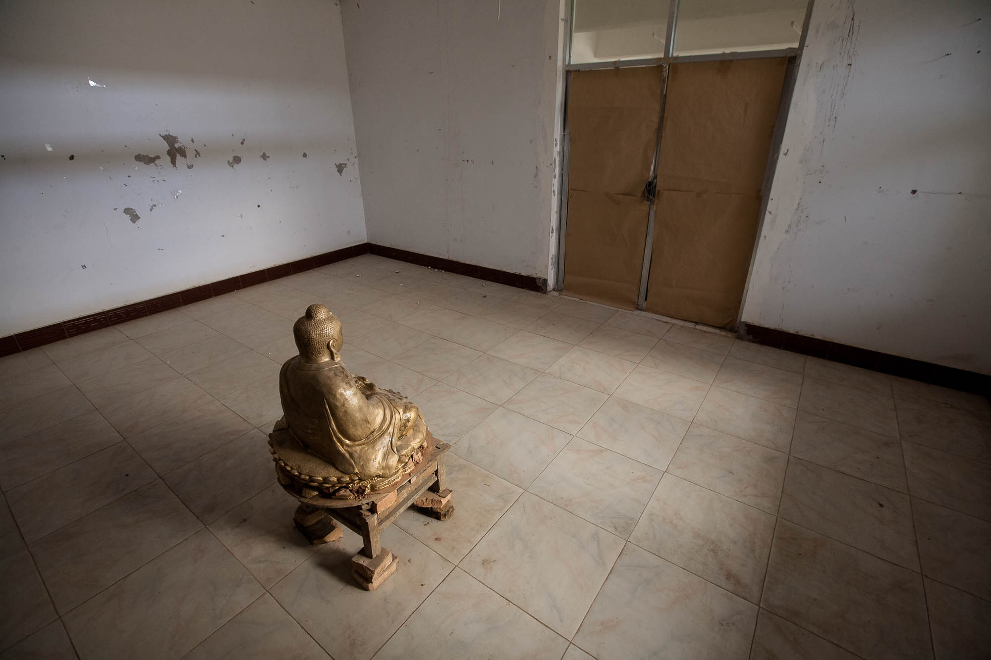 Buddha in a room