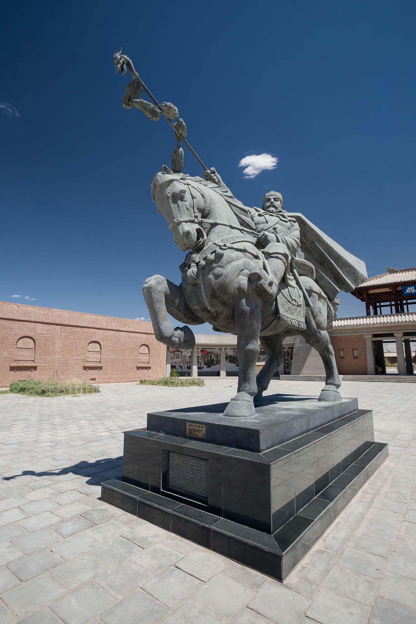 rider statue