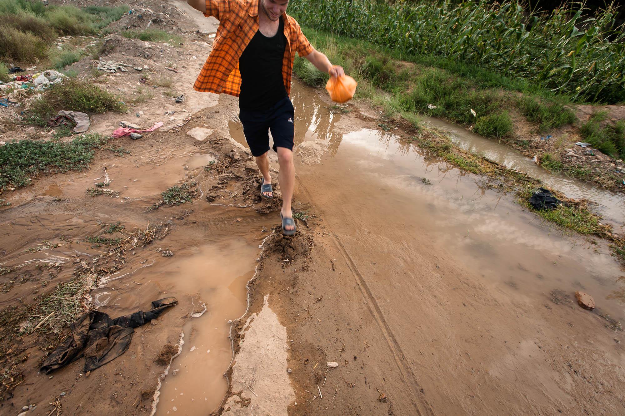 navigating the mud