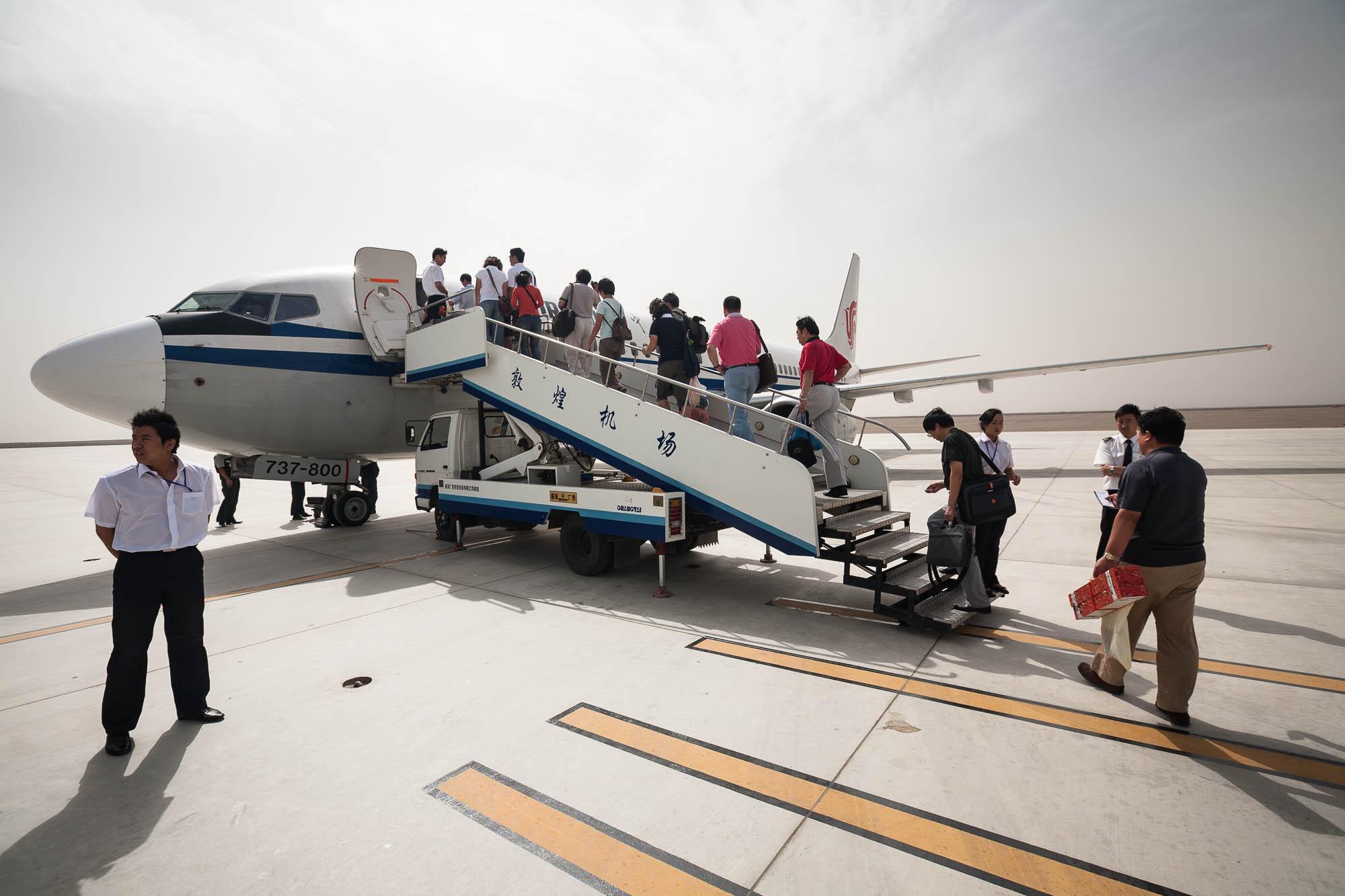 flight to Beijing