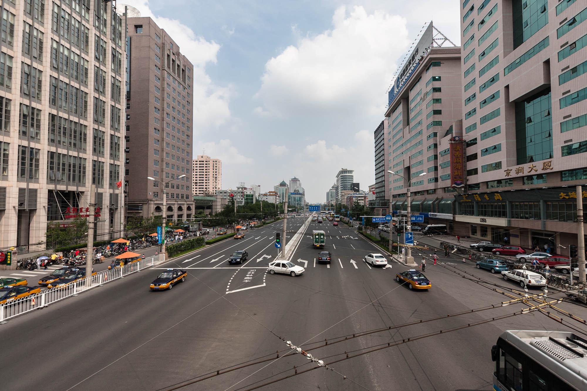 road in Beijing