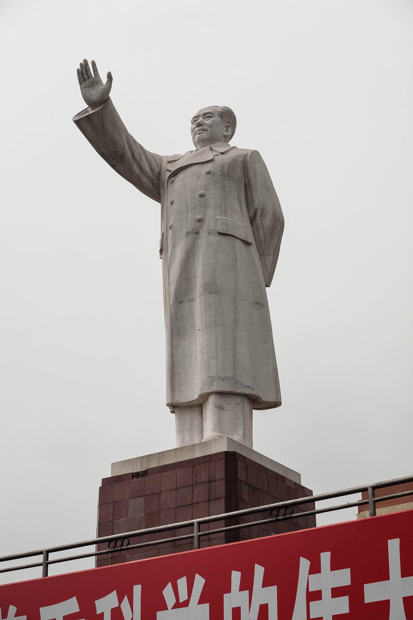 mass murderer statue