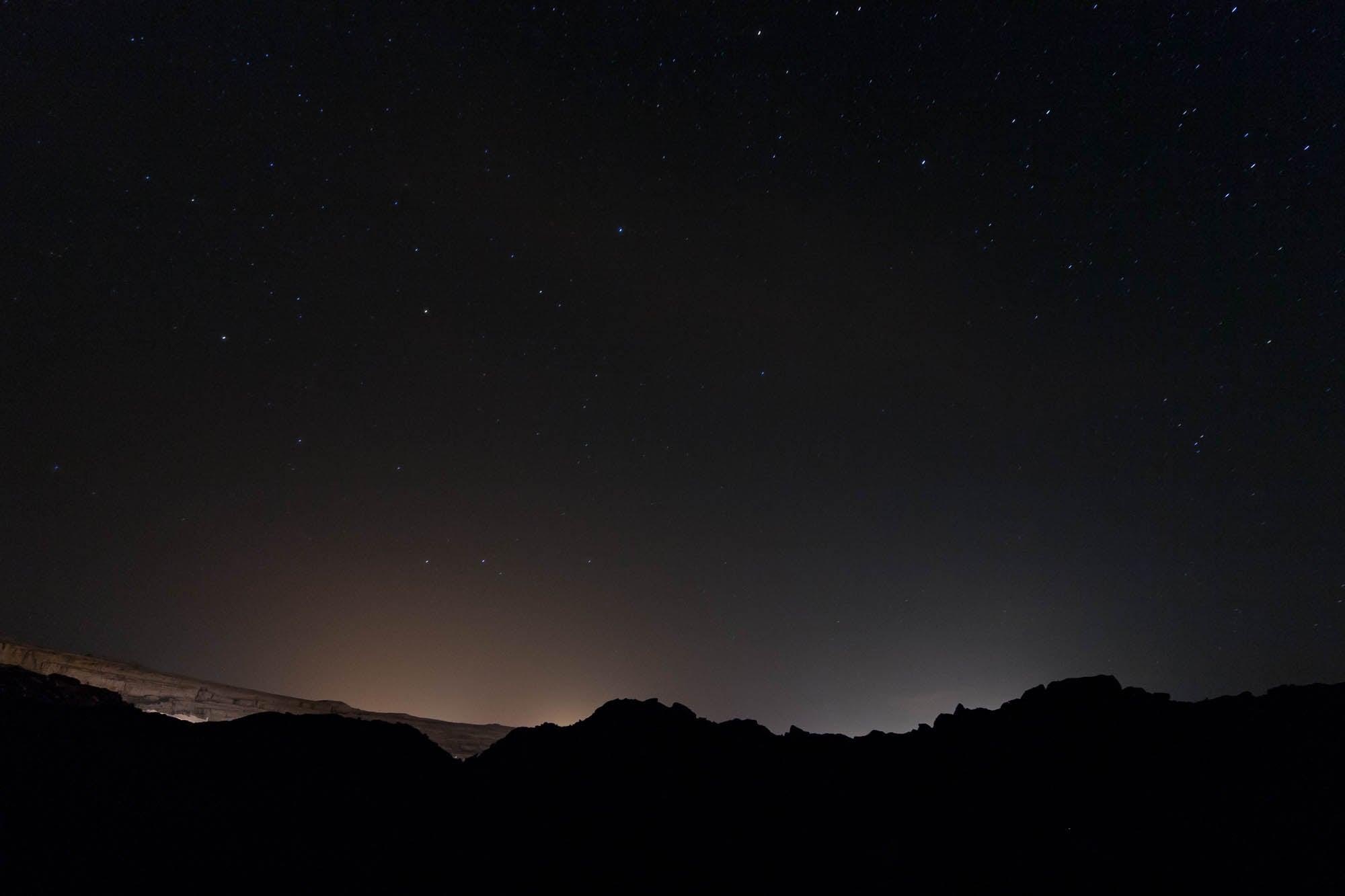 stars over the mine