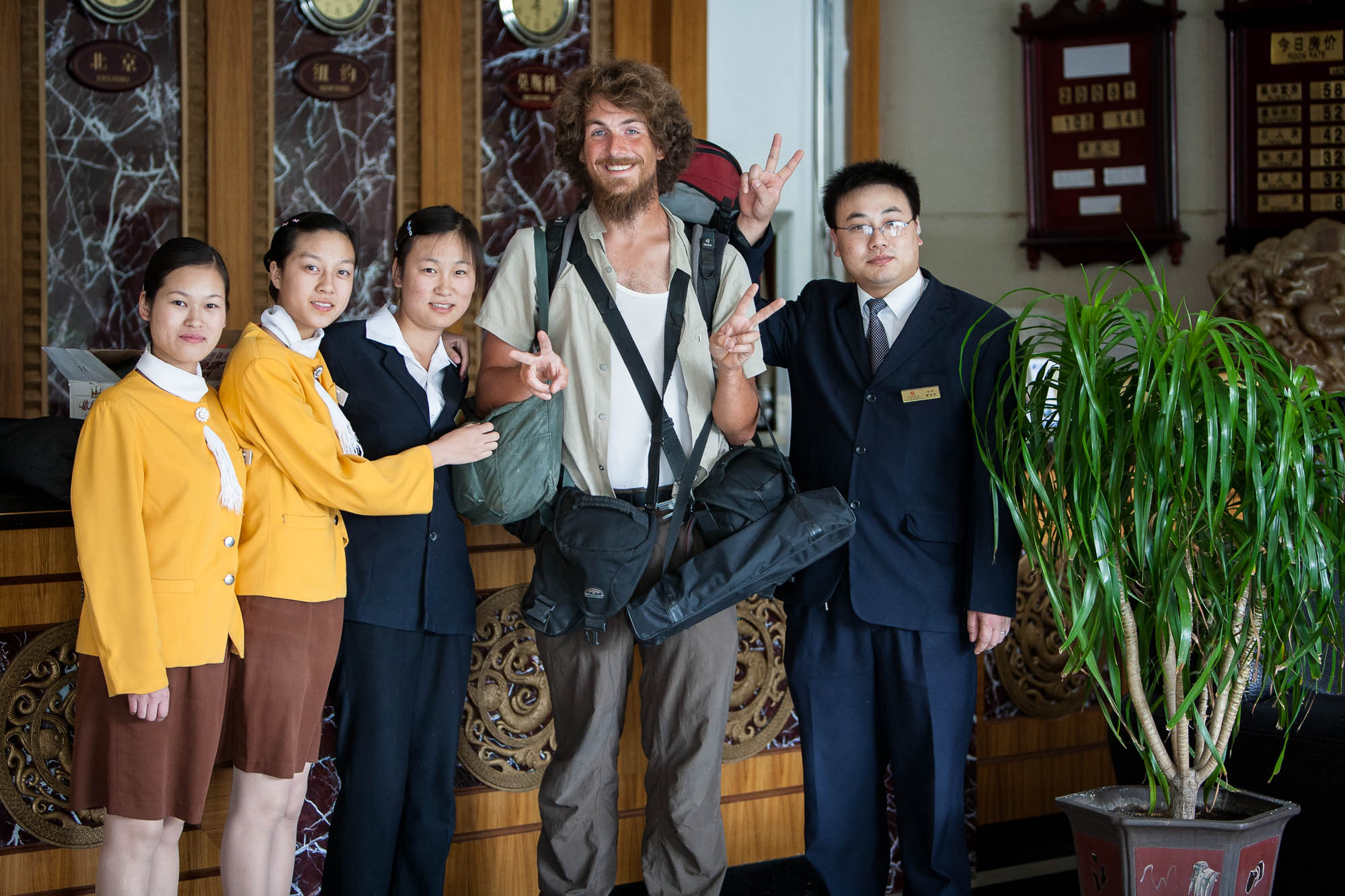 The staff of the Xiyou Hotel in Shanshan was very friendly and welcoming