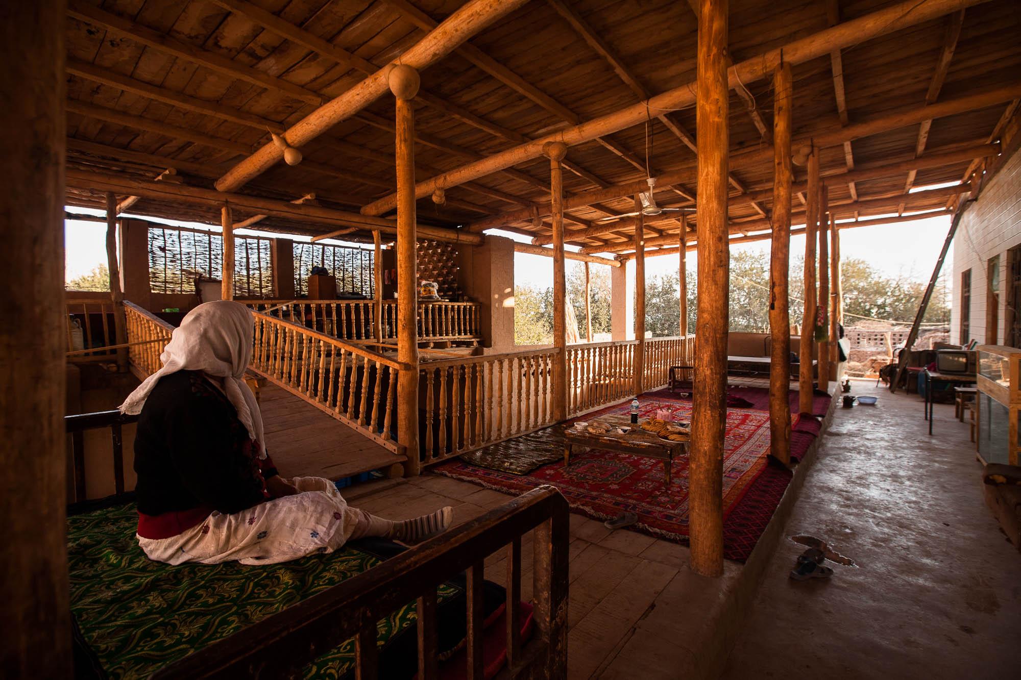 Uyghur house