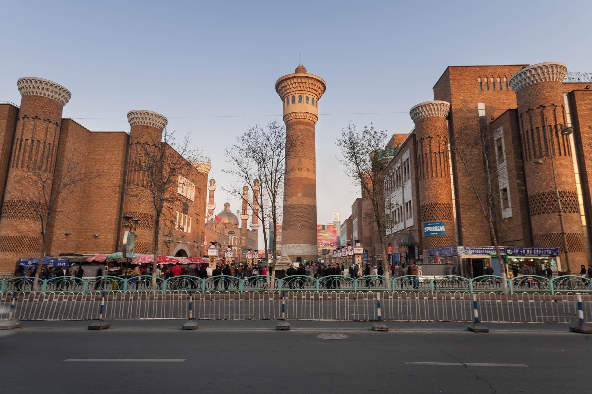 bazaar of Ürümqi