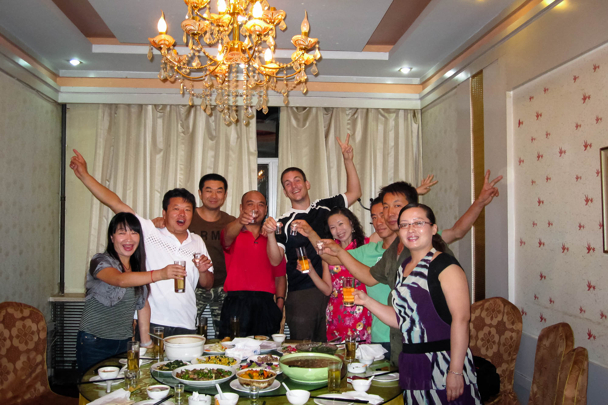 Zhou Yan and the good people of Hutubi invited me to dinner