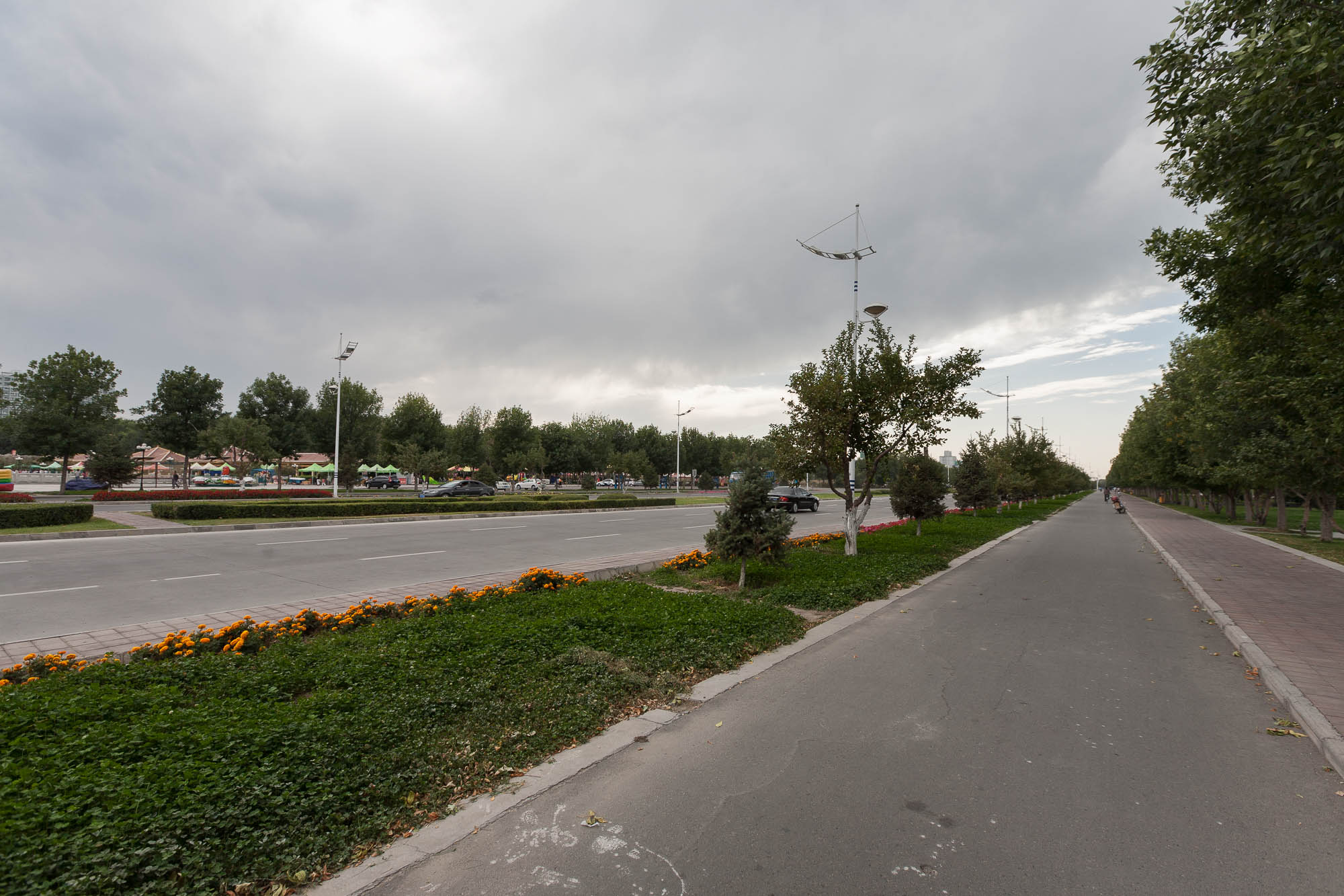 street in Shihezi