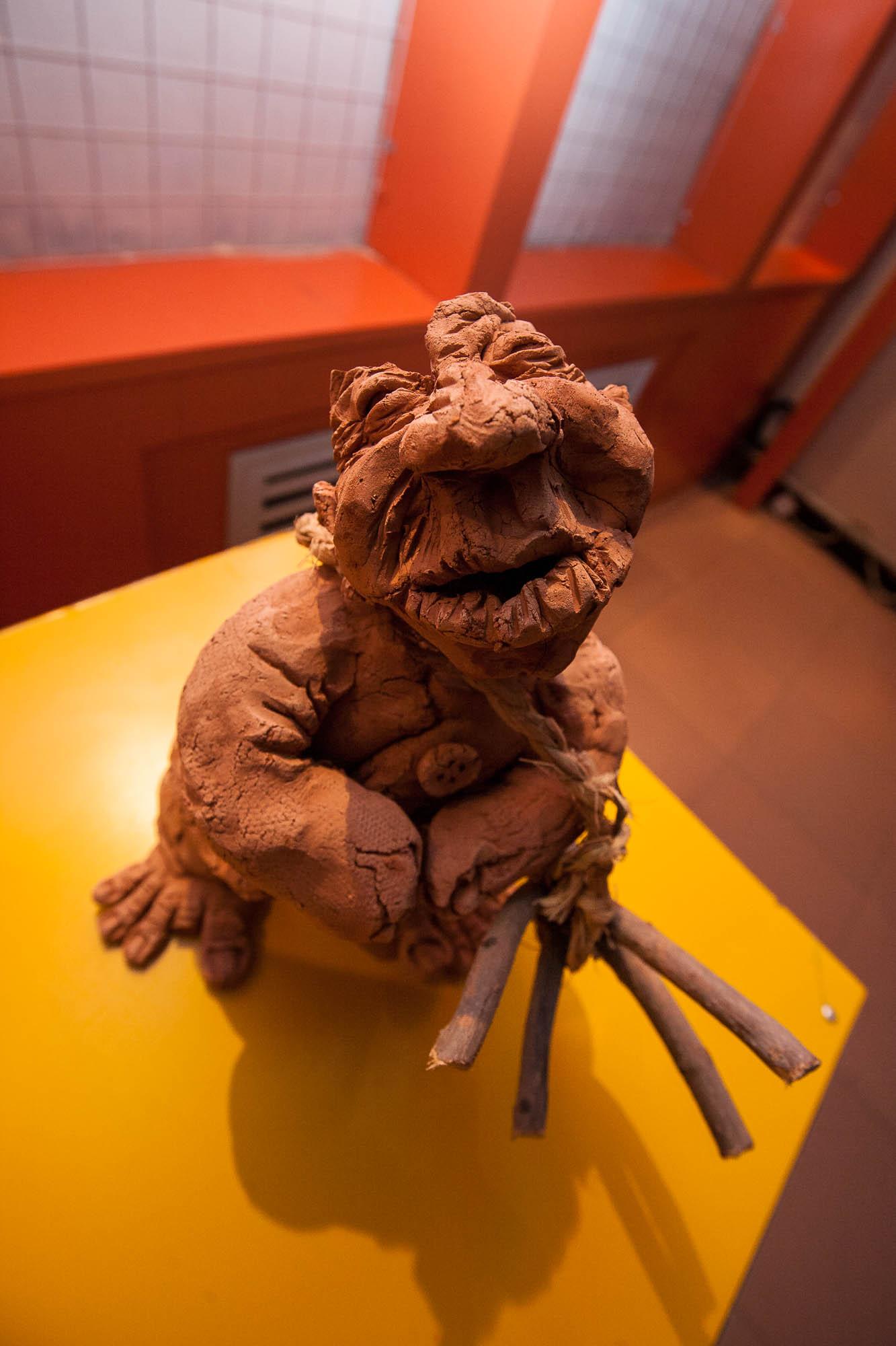 clay person