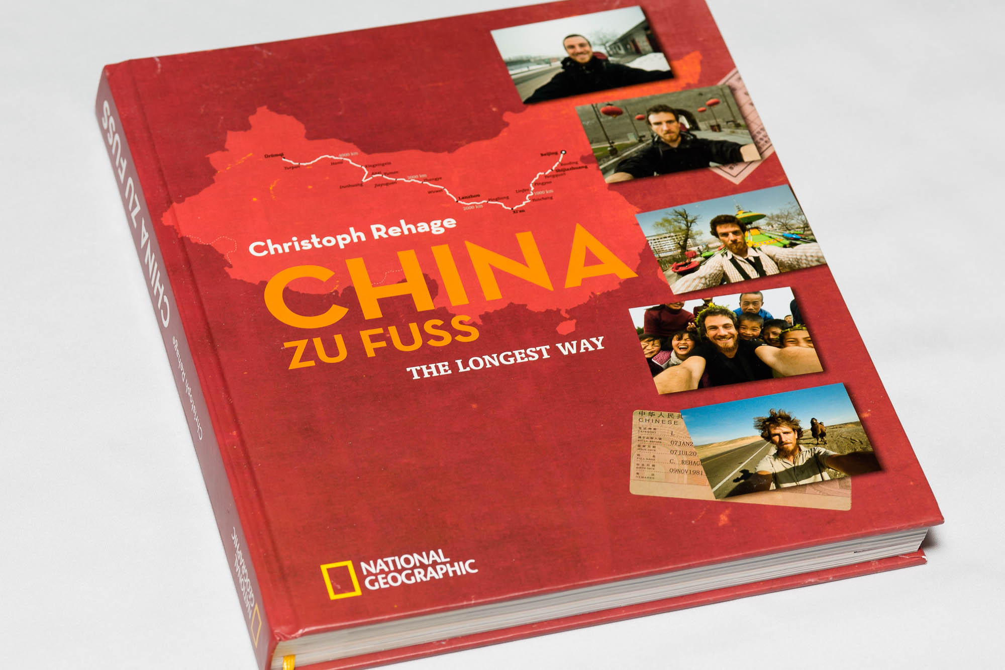 China zu Fuß book