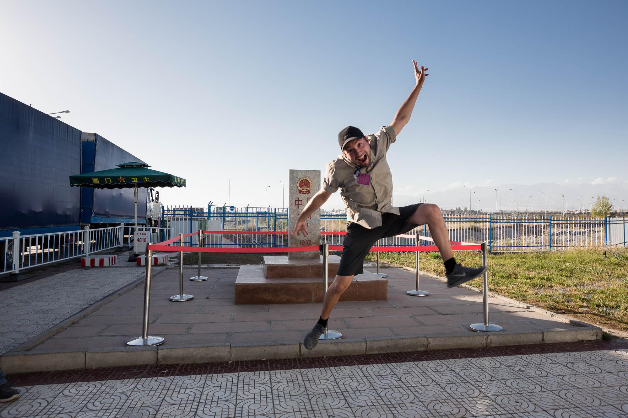 Dario border jump