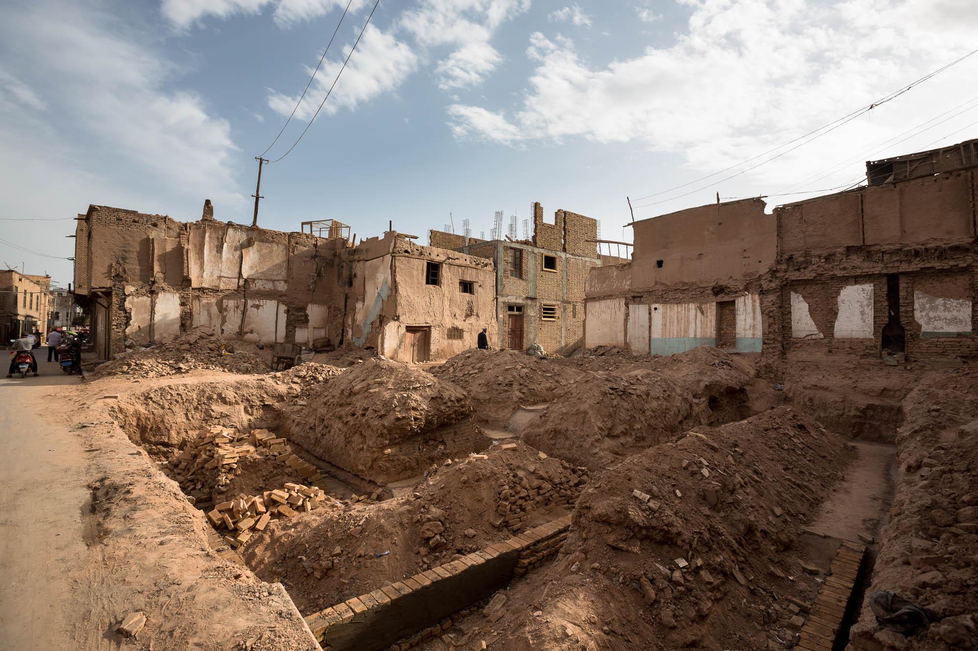 destruction site