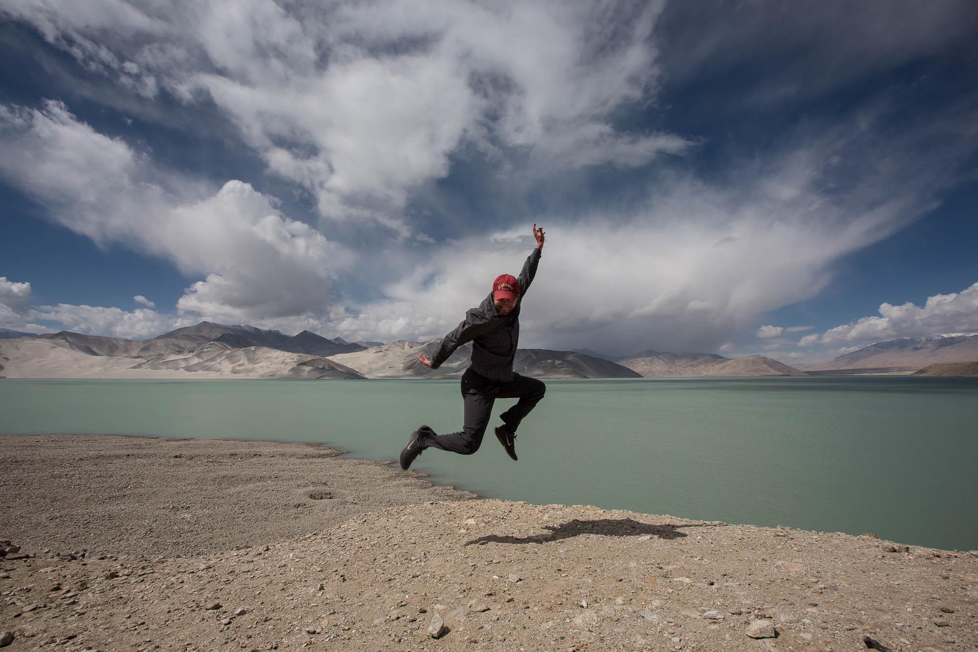 lake jump Dario