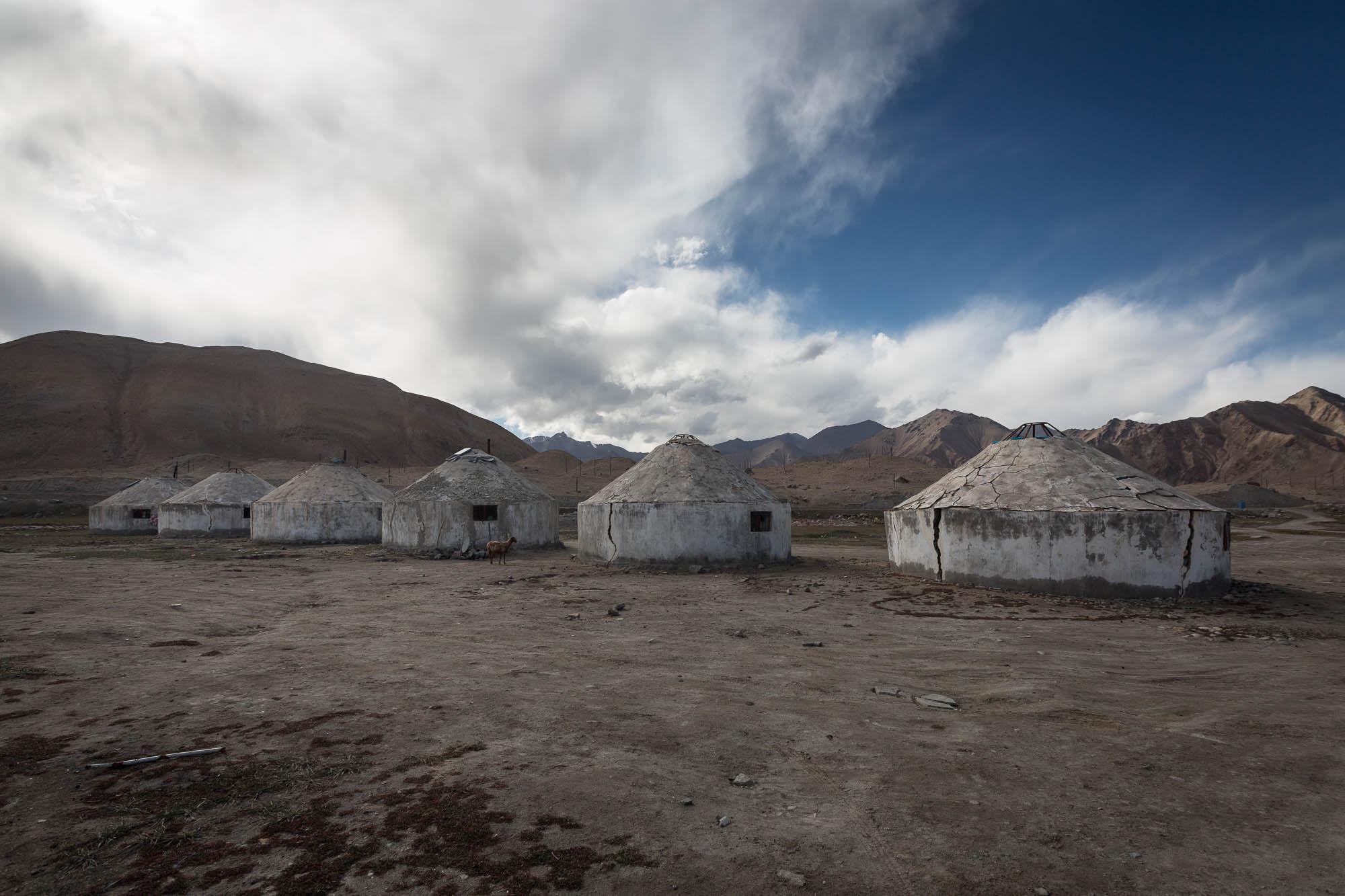 concrete yurts