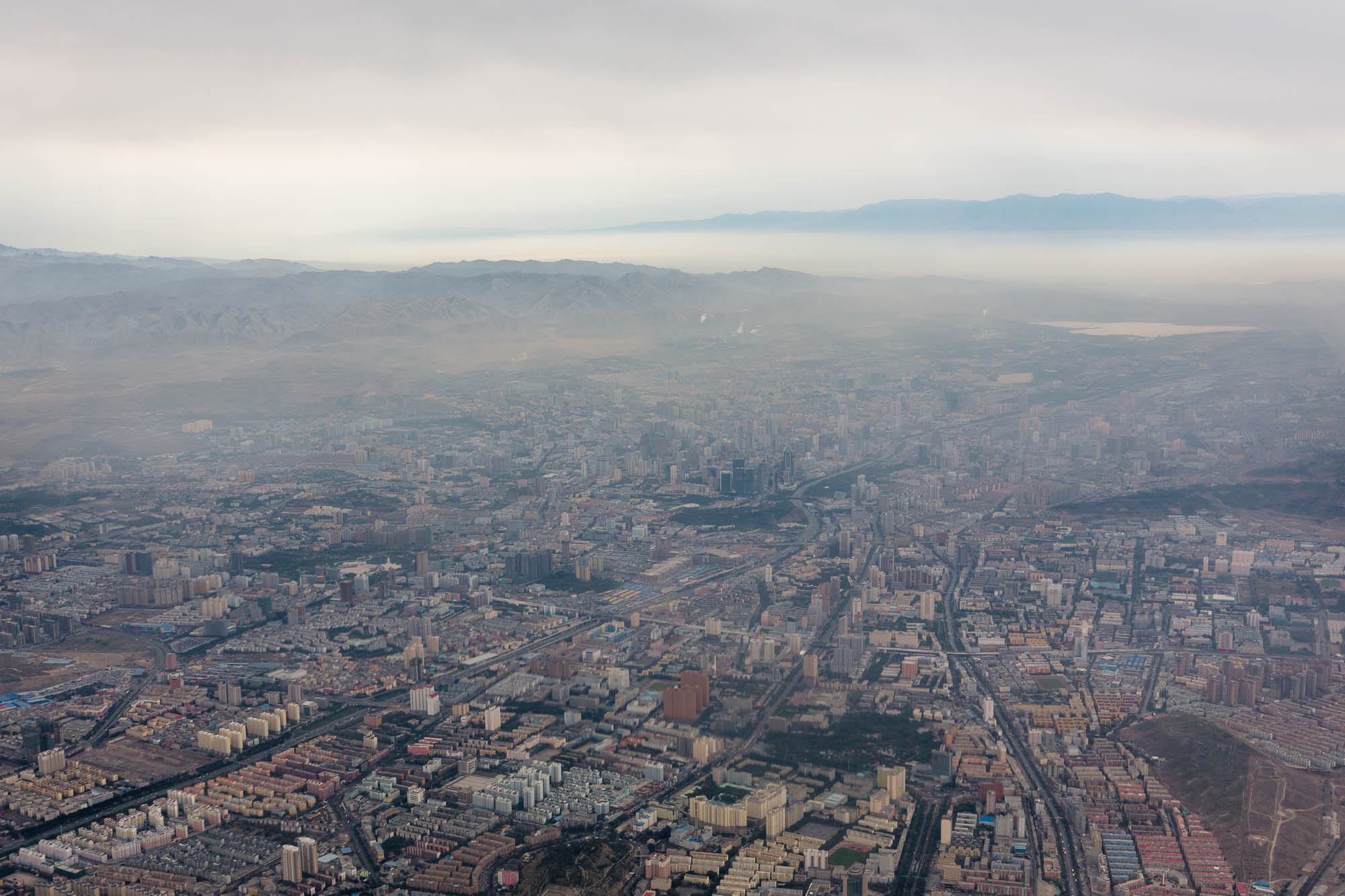 Ürümqi from above