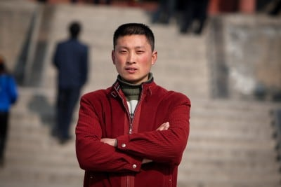 Chang Haiqiang made sure that I had a place to stay on February 16th, 2008