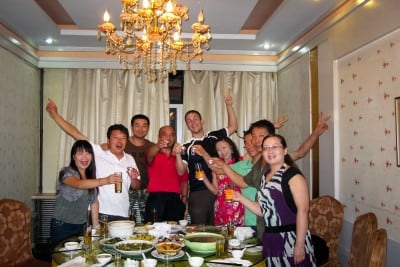 Zhou Yan and the good people of Hutubi invited me to dinner on September 3rd, 2010