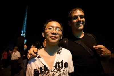 Zhu Hui's nephew showed me around Shihezi on September 11th, 2010