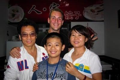 The Chen family gave me the best dumplings ever on September 12th, 2010