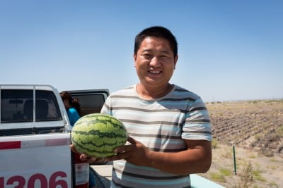 This gentleman gave me a watermelon on August 13th, 2012