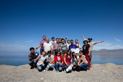 They stopped their tourbus for me, this travel group from somewhere else in China, on August 24th, 2012