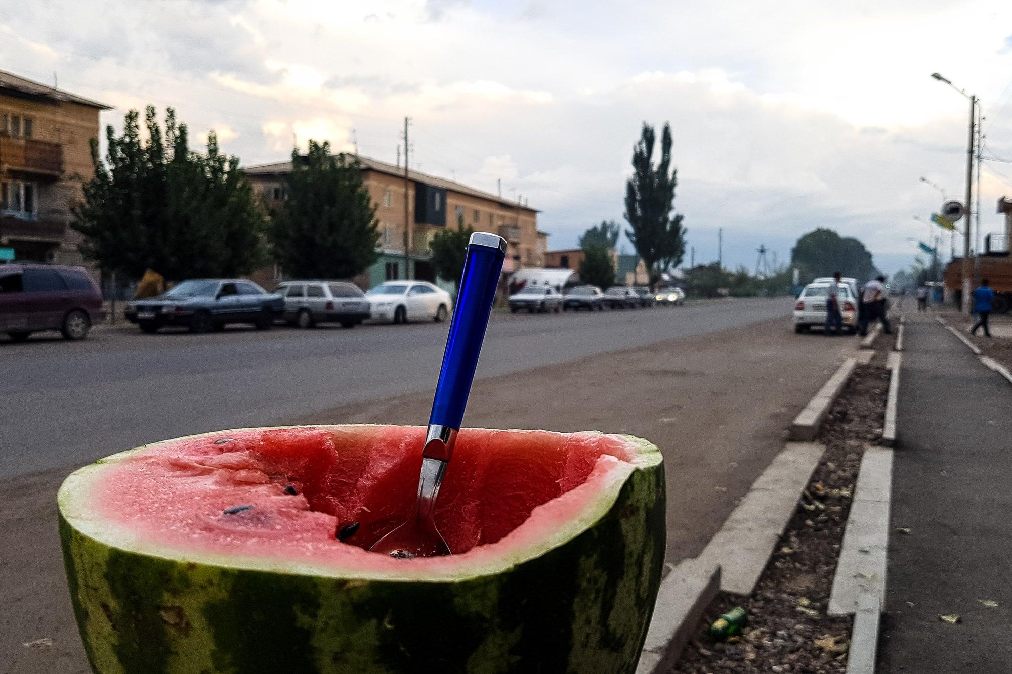 roadside melon