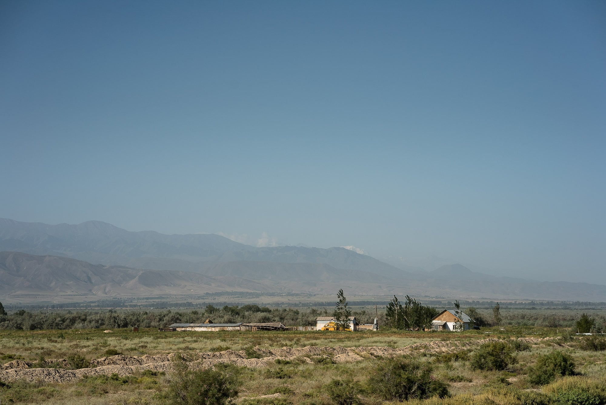 distant buildings