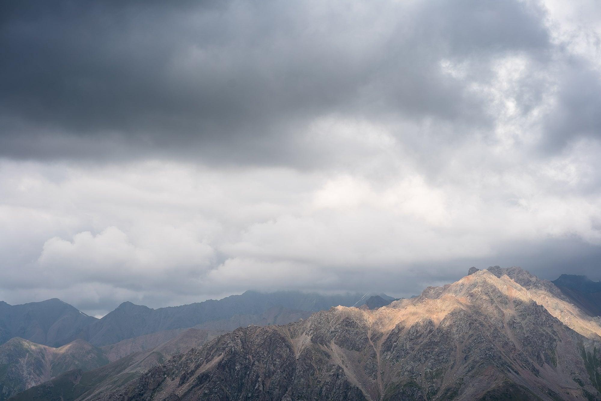 Shymbulak mountains