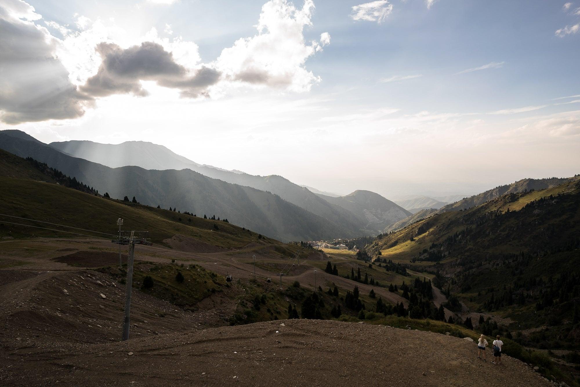 Chimbulak view