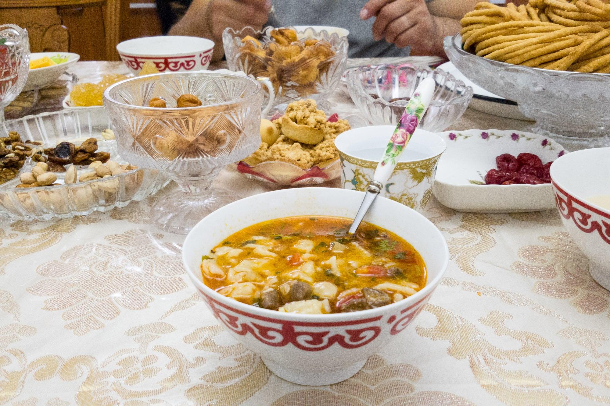 Kazakh dinner