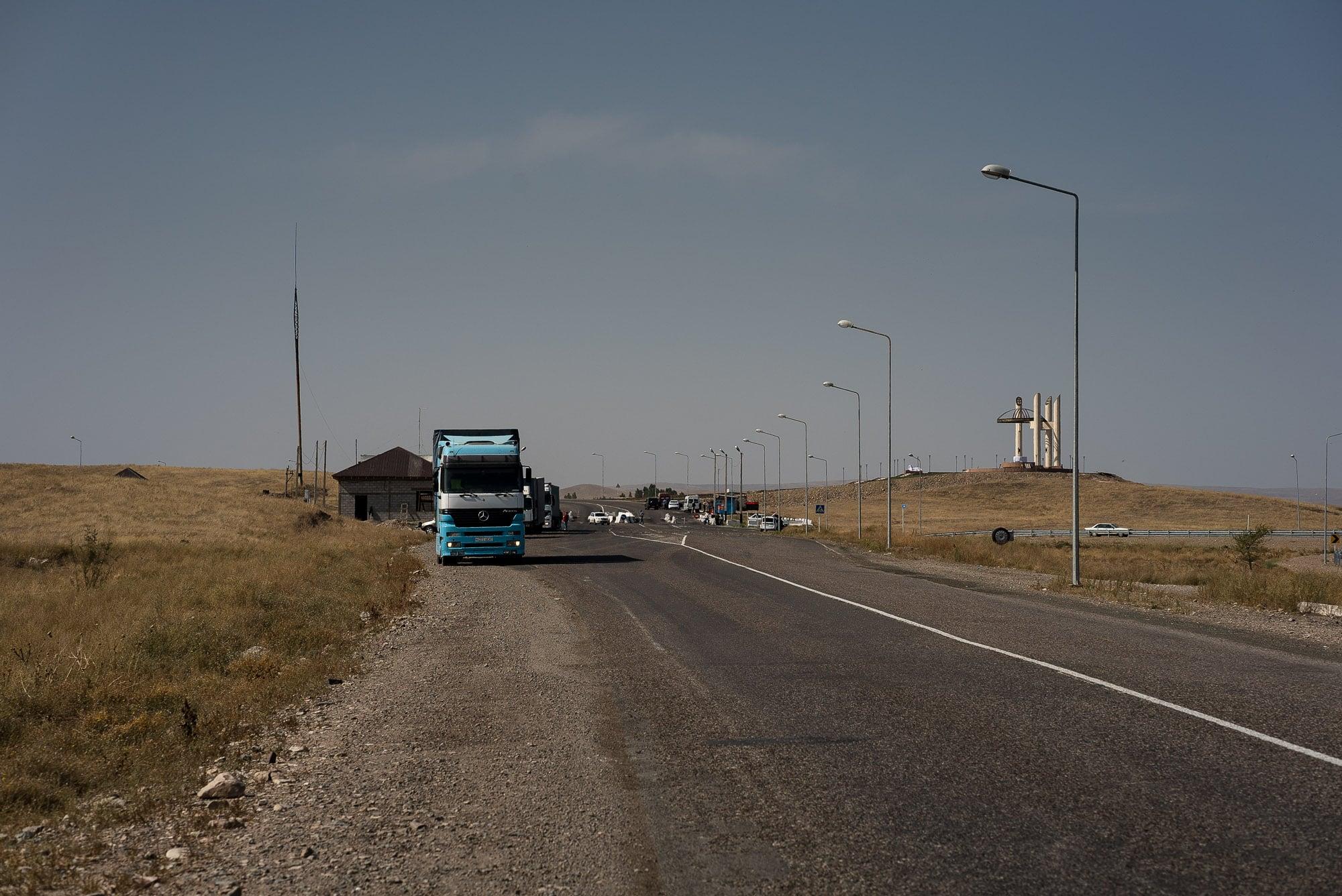 pre-border checkpoint