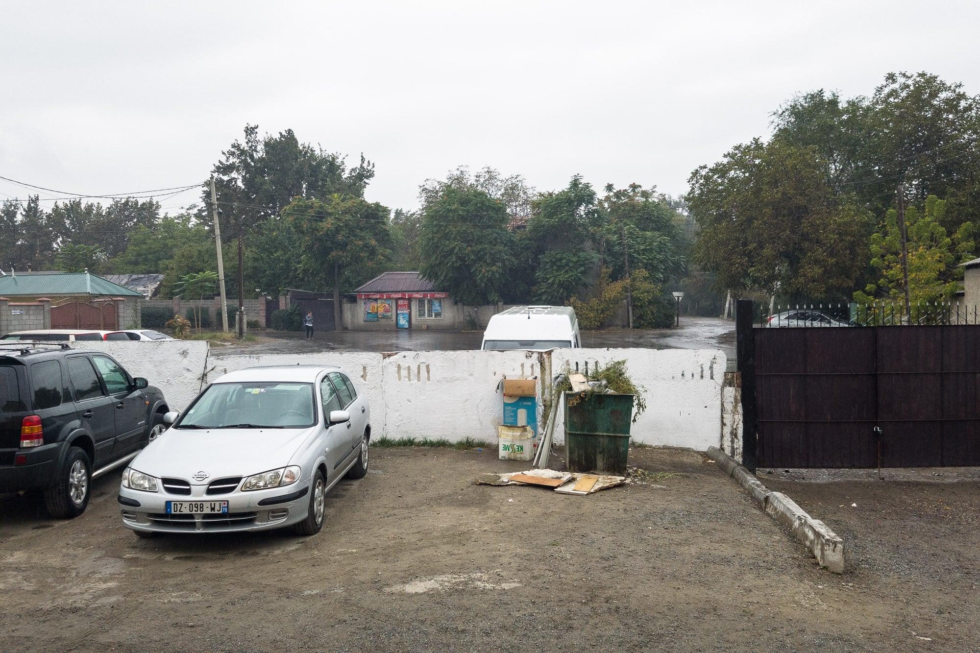 rain in Bishkek