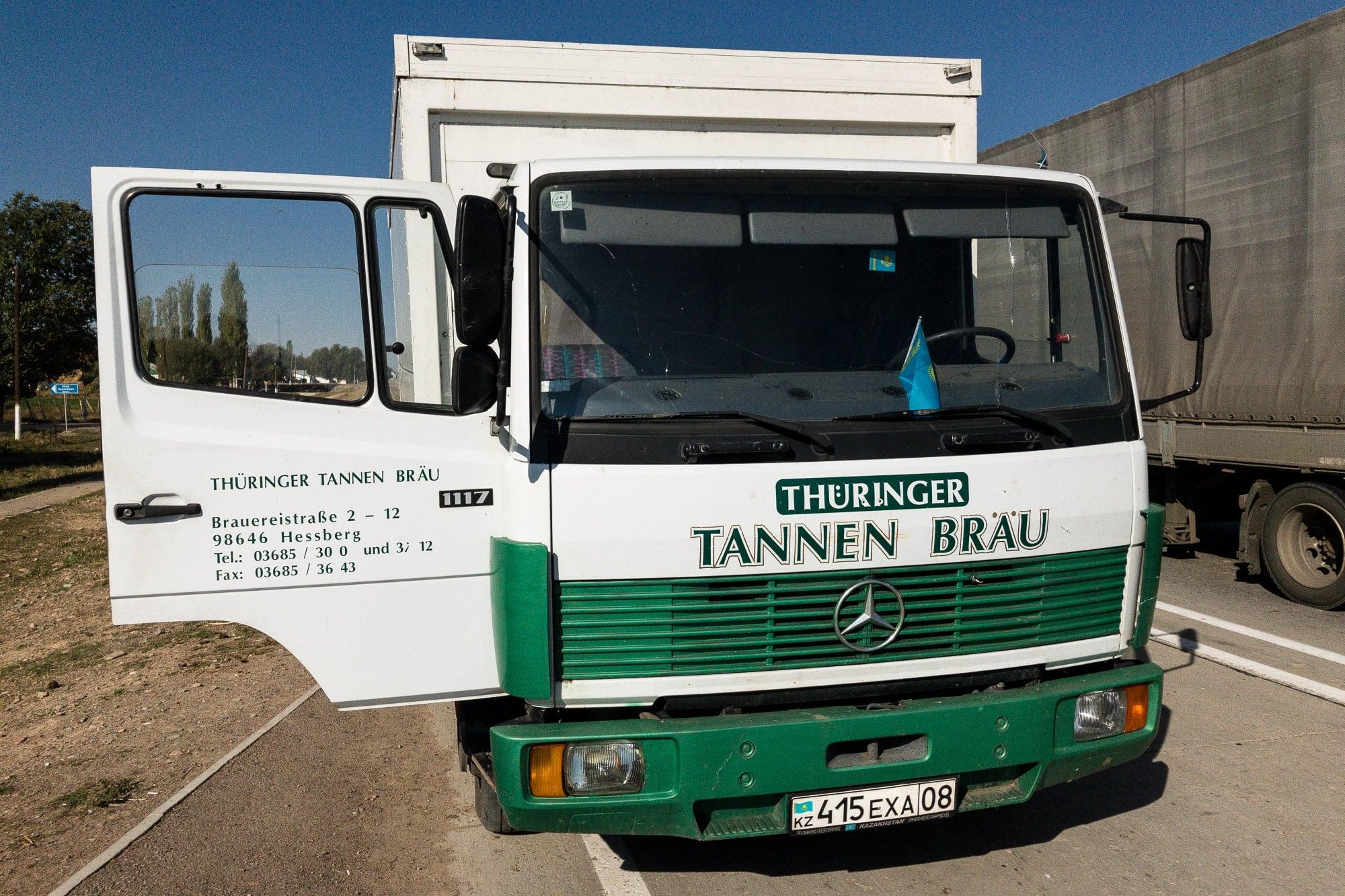 Tannen Bräu truck