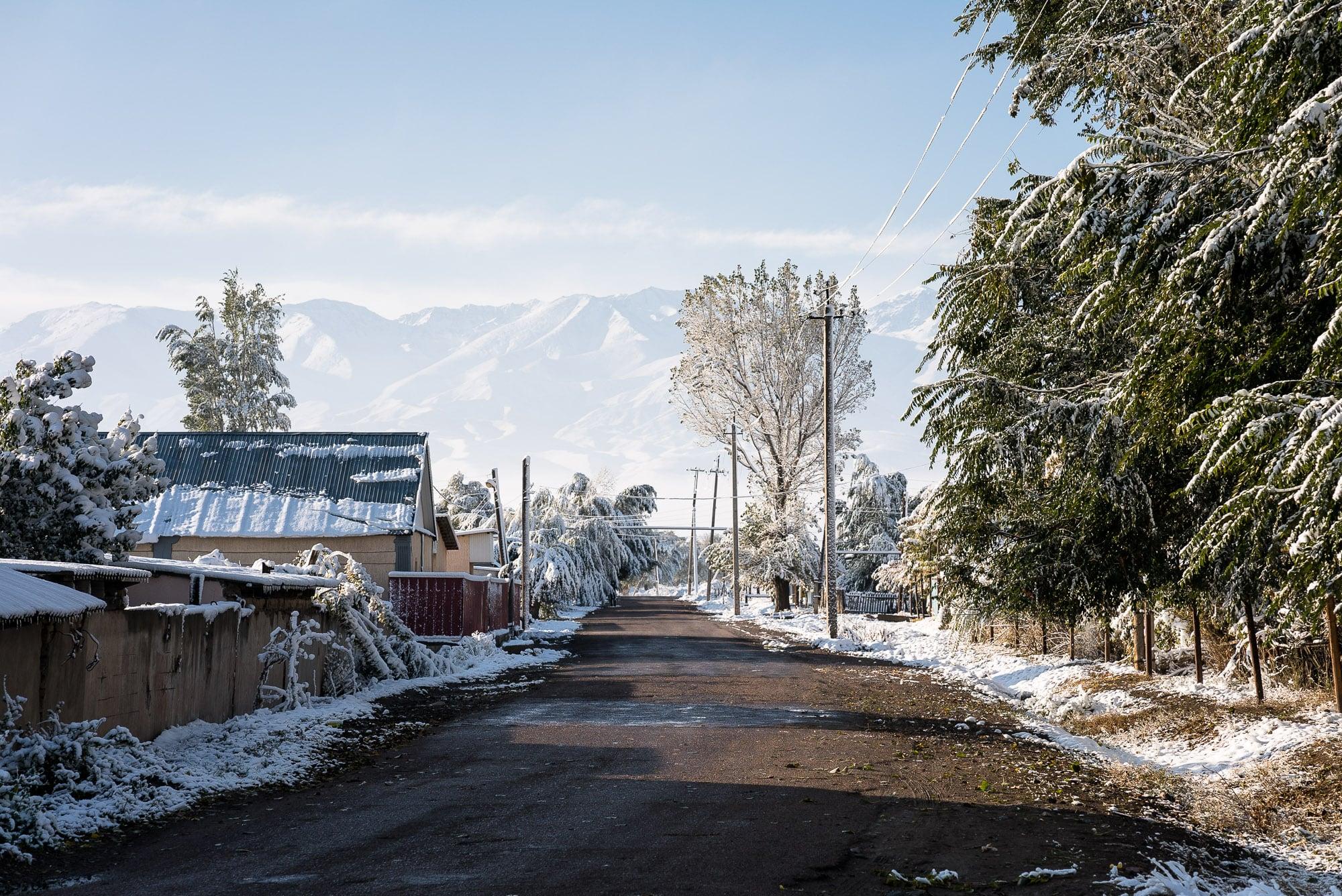 snow in Kulan