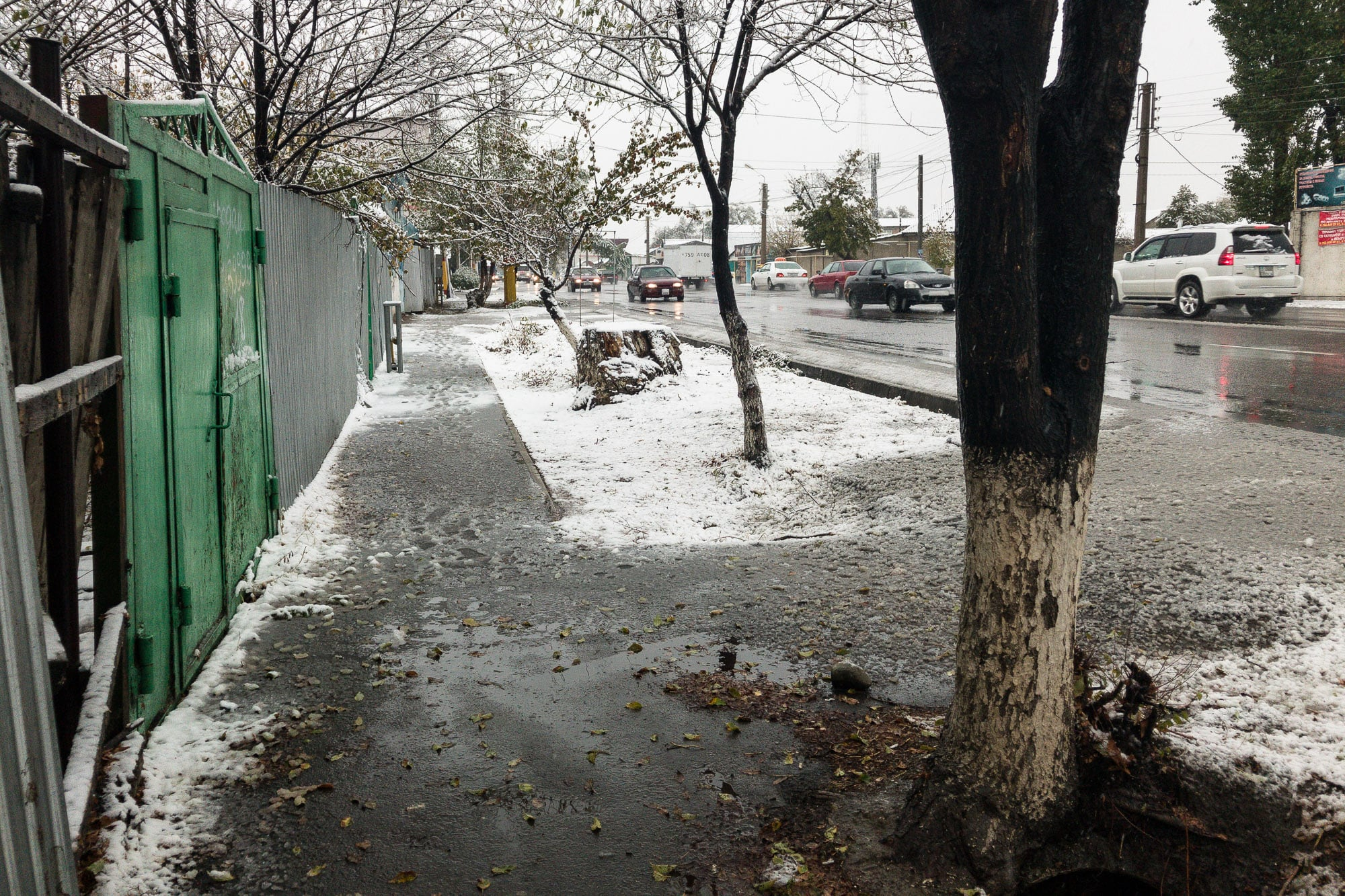 snow in Taraz