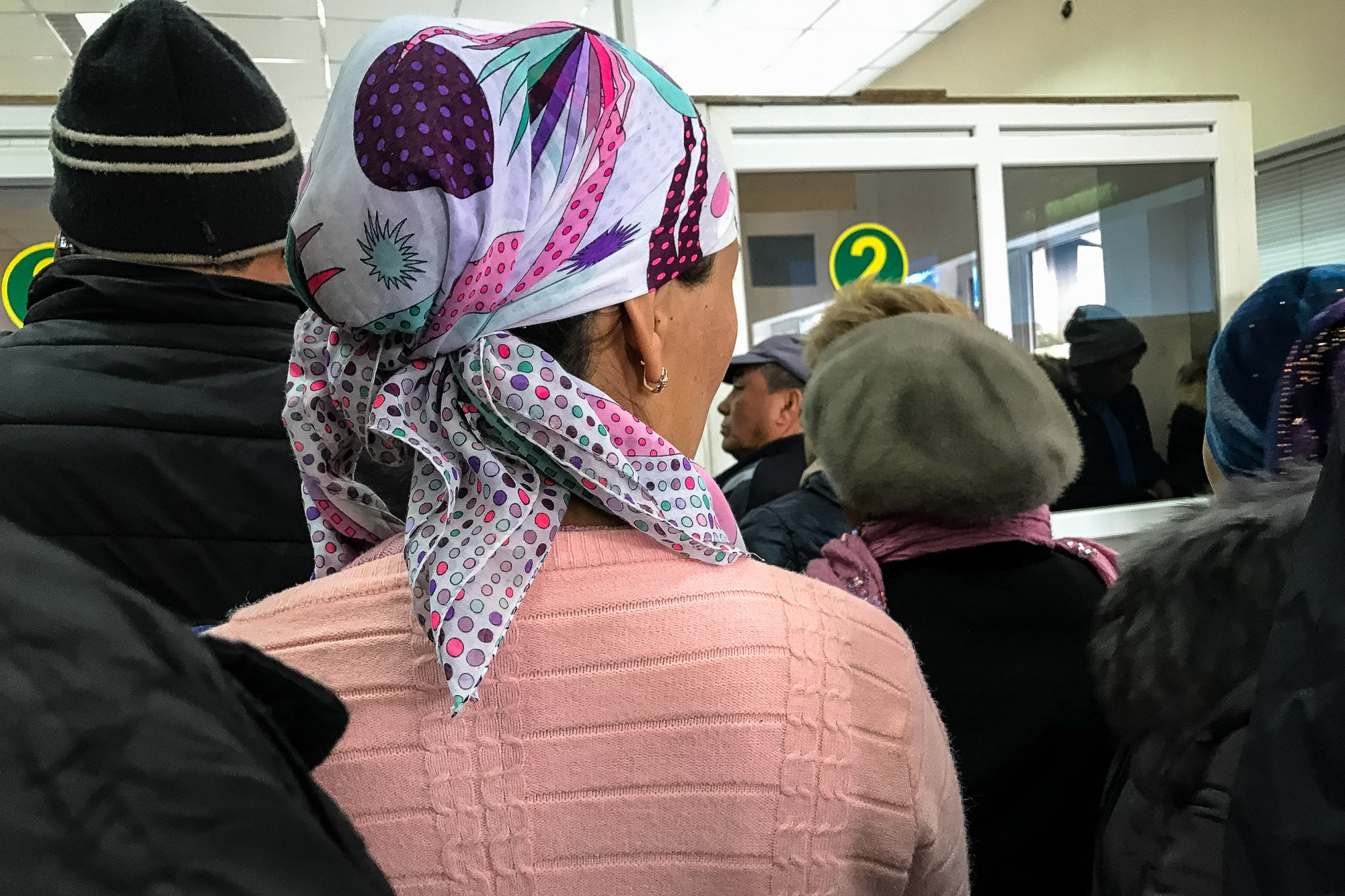 border to Kyrgyzstan