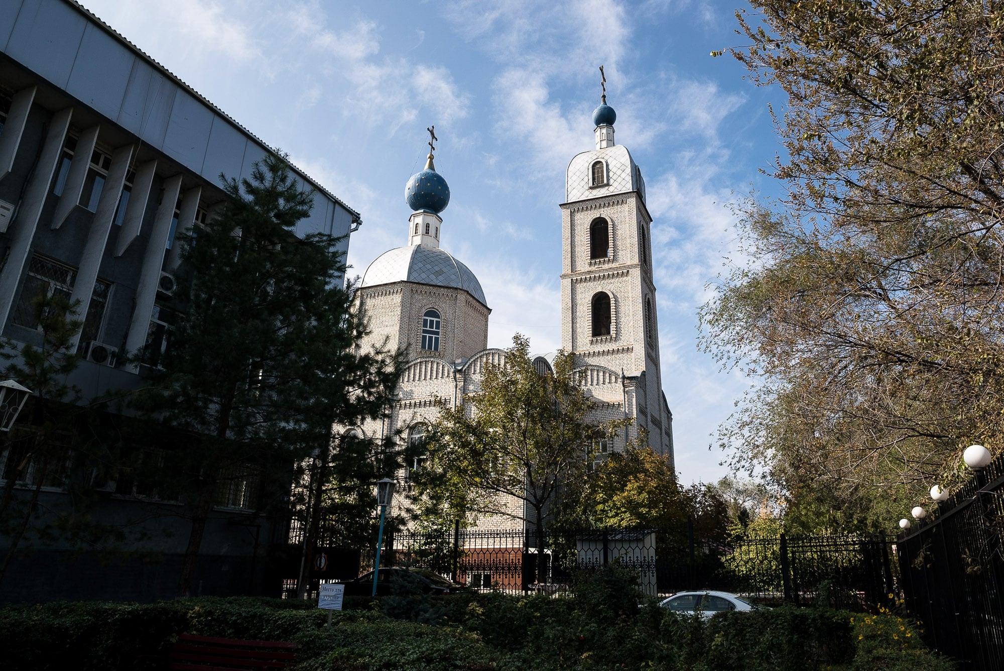 church in Taraz