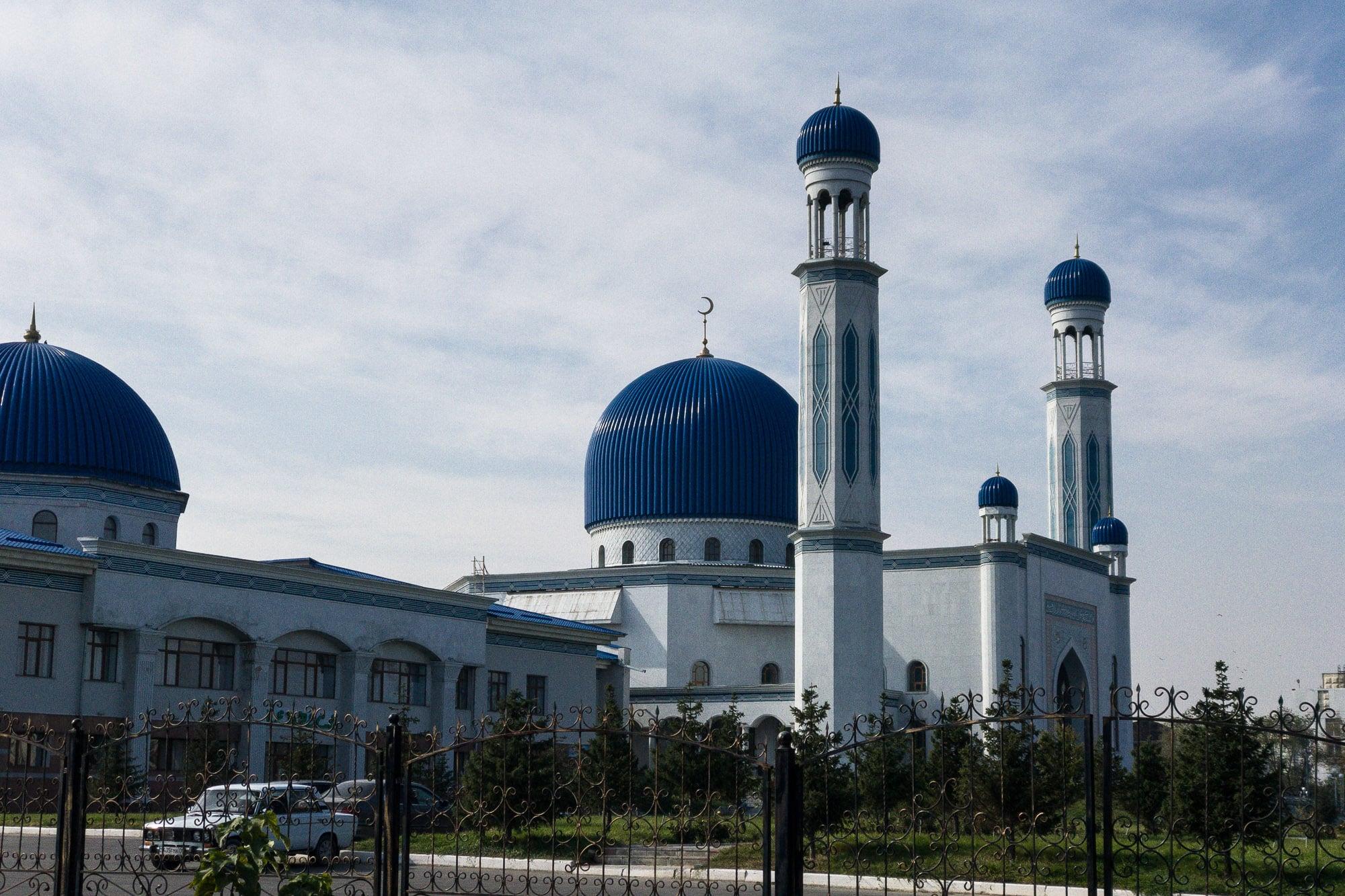 mosque in Taraz