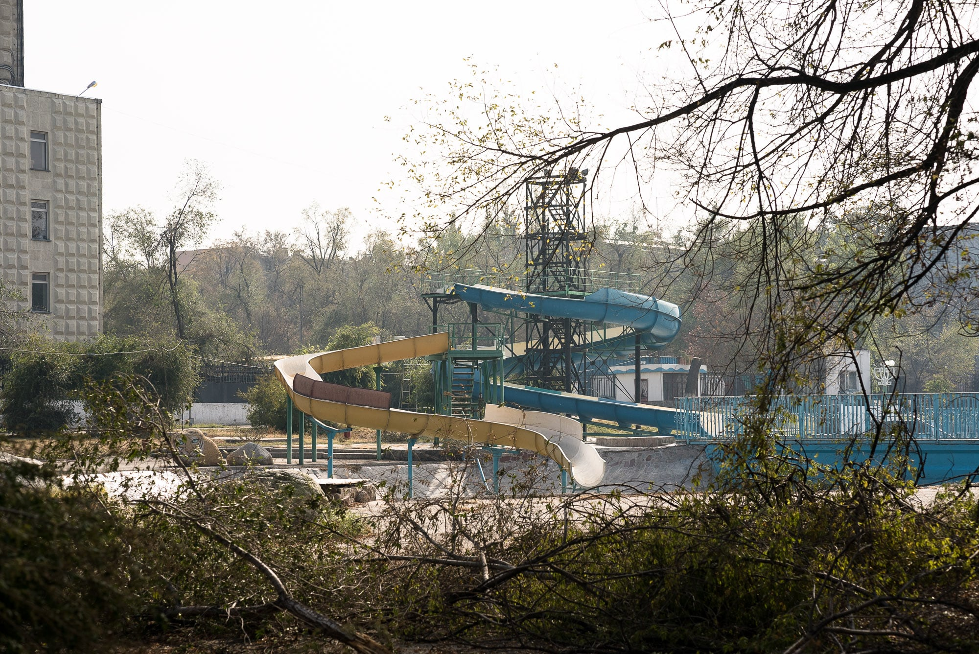 amusement park in Taraz