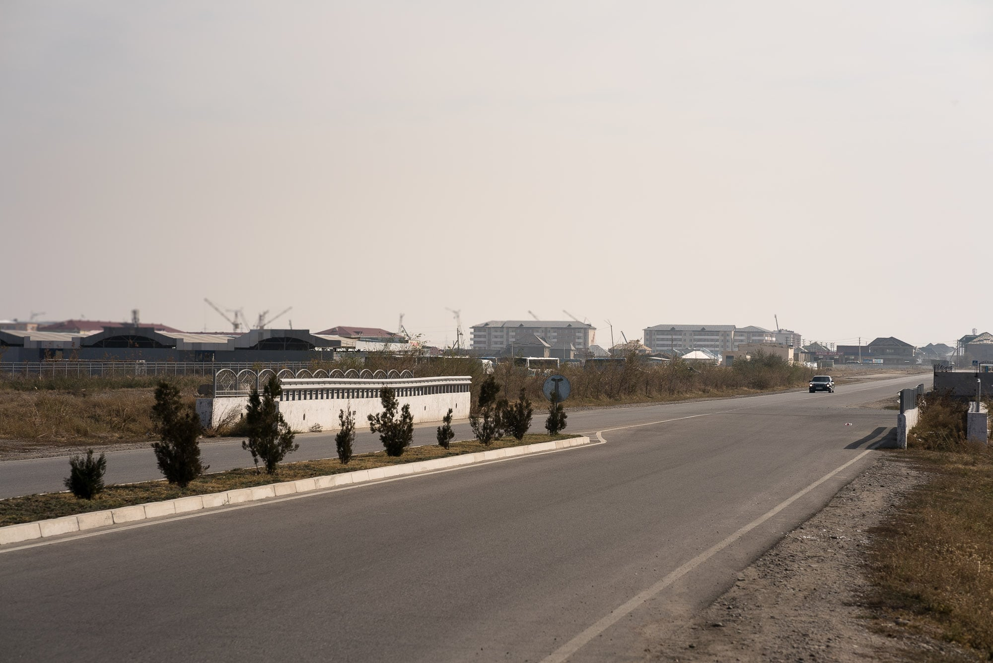 new residential areas in Taraz