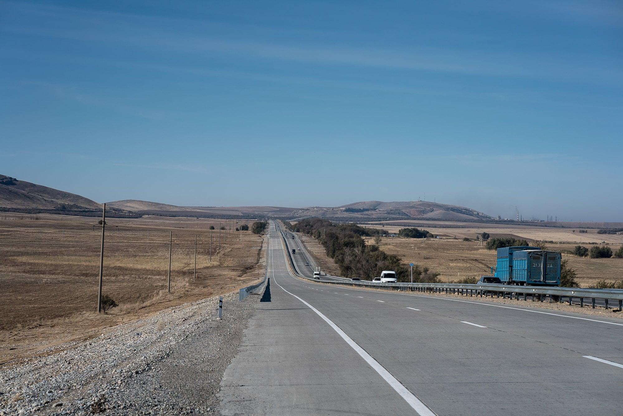 road near Zhaskeshu