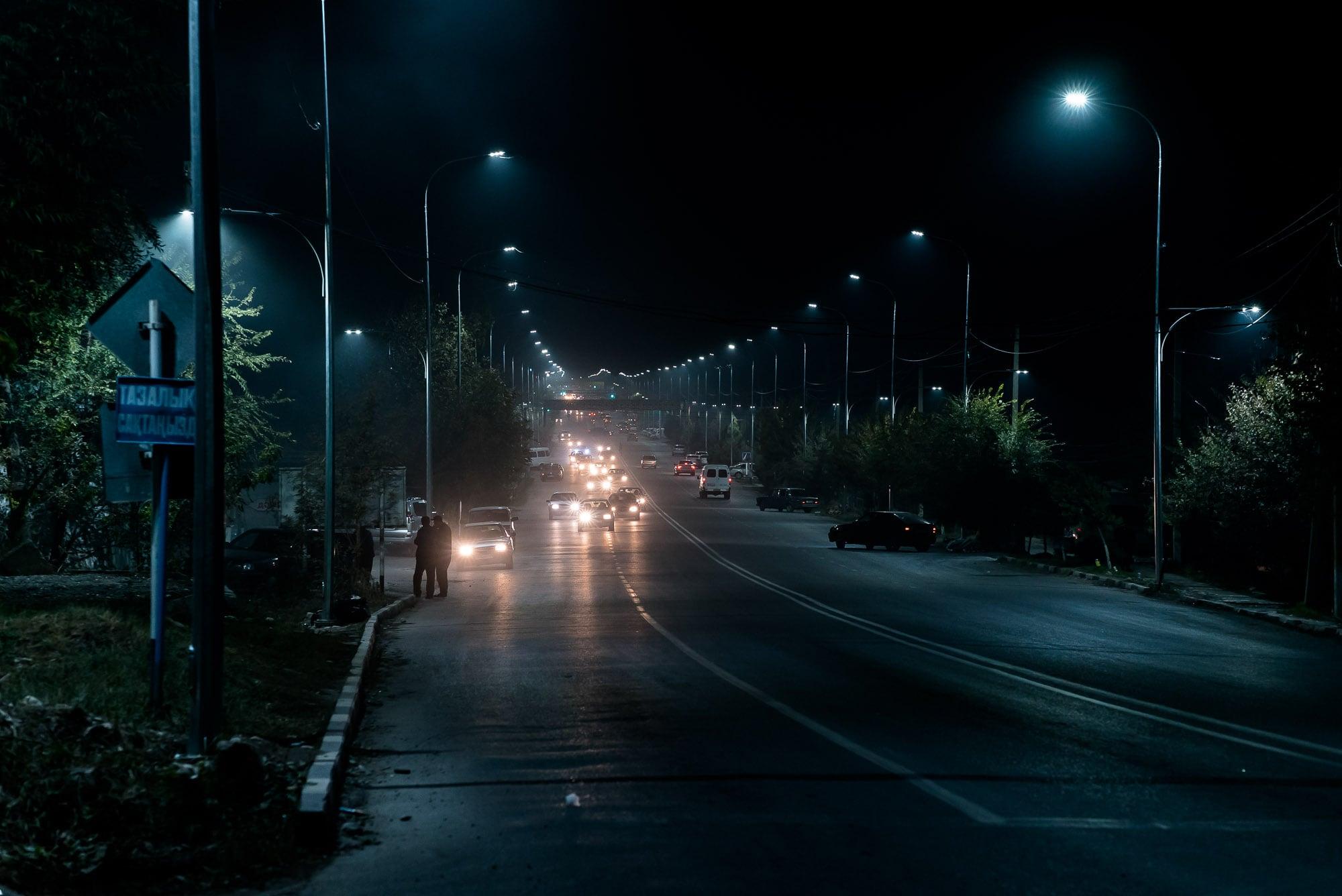 road in Aksukent