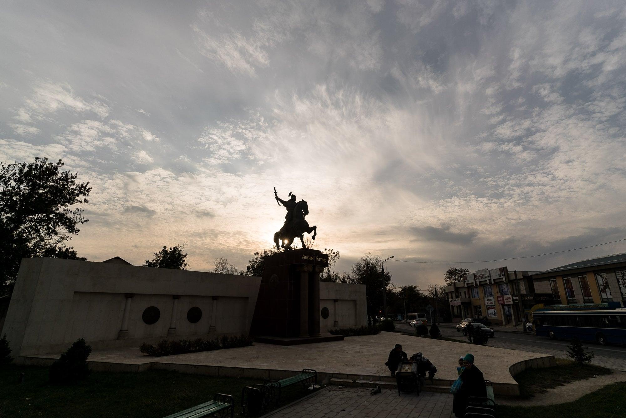 Kazakh monument