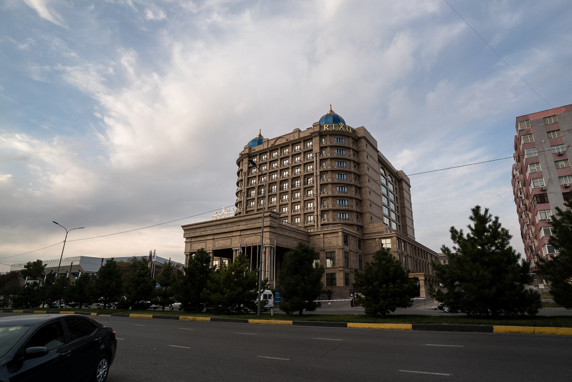 downtown Shymkent
