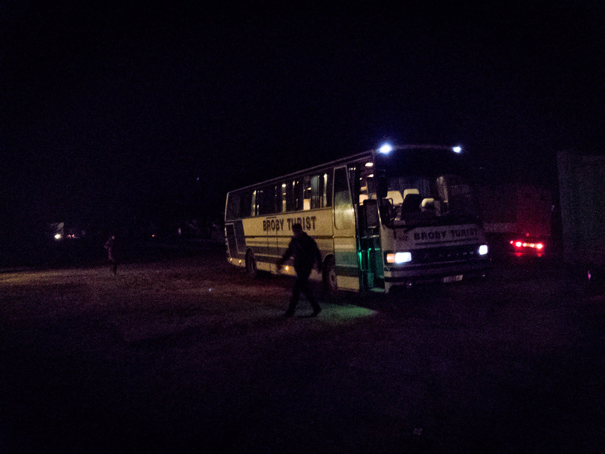 bus to Bishkek