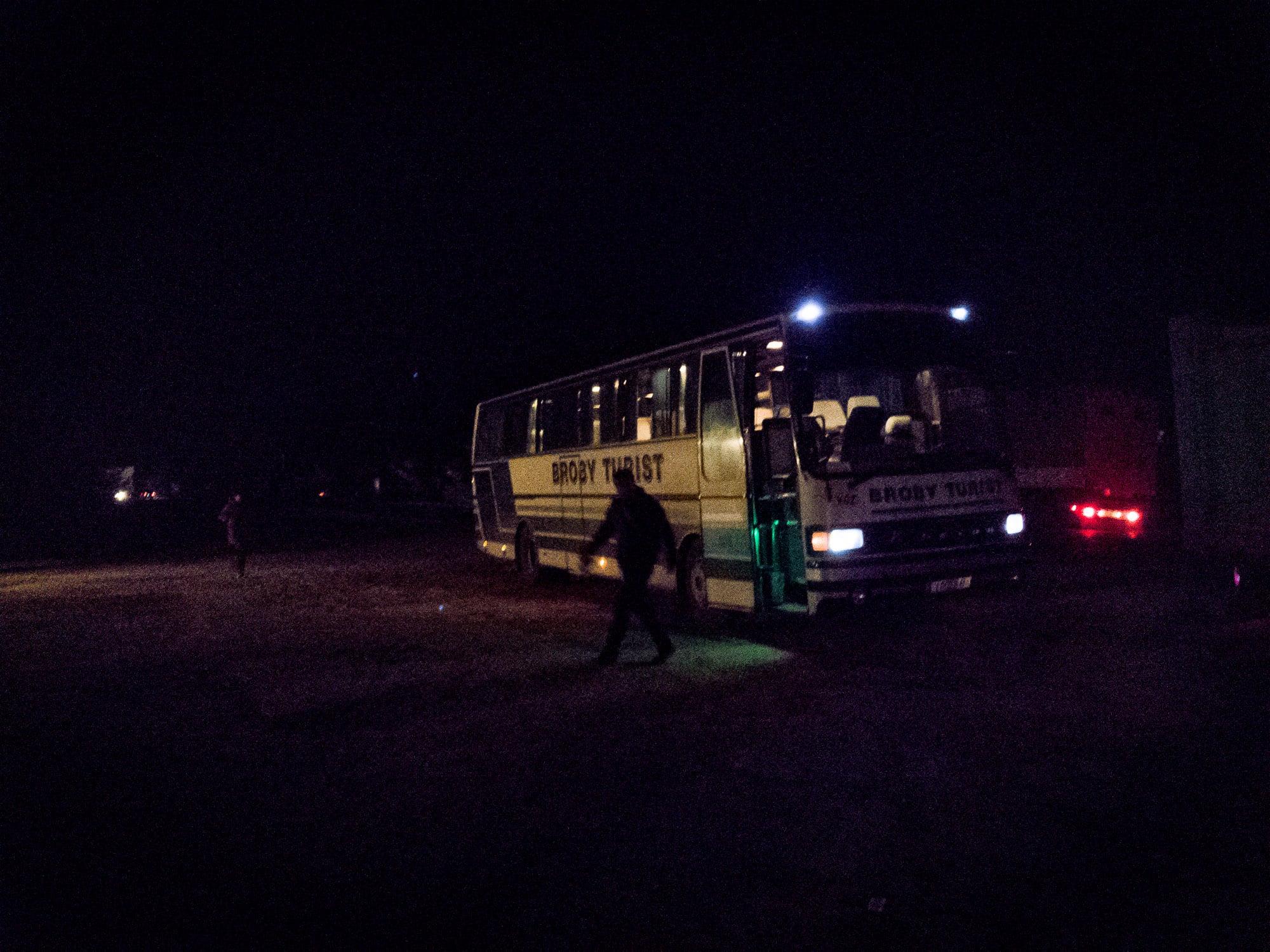 bus to Bishkek
