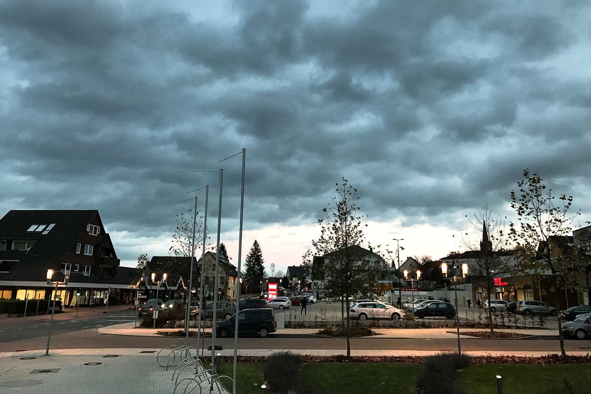 clouds over Bad Nenndorf